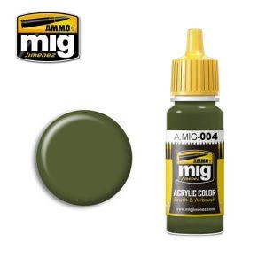 Mig Acrylic MIG004 RAL 6011B Resedagrun