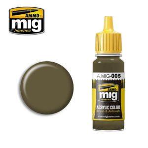 Mig Acrylic MIG005 RAL 7008 Graugrun