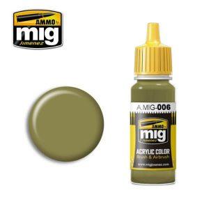 Mig Acrylic MIG006 RAL 7008 Graugrun Opt.2