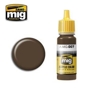 Mig Acrylic MIG007 RAL 7017 Dunkelbraun