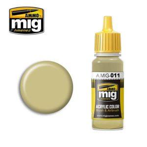 Mig Acrylic MIG011 RAL 7028 Dunkelgelb Aus '44 DGI
