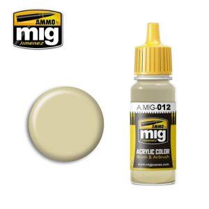Mig Acrylic MIG012 RAL 7028 Dunkelgelb Aus '44 DGIII