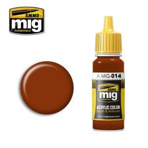 Mig Acrylic MIG014 RAL 8012 Rotbraun