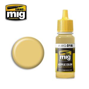 Mig Acrylic MIG016 RAL 8020 Gelbbraun