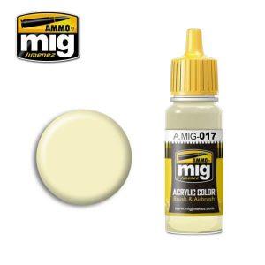 Mig Acrylic MIG017 RAL 9001 Cremeweiss