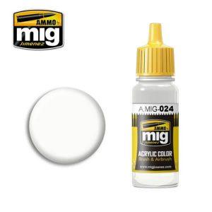 Mig Acrylic MIG024 Washable White Camo