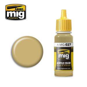 Mig Acrylic MIG027 RAL 8031 F9 German Sand Beige