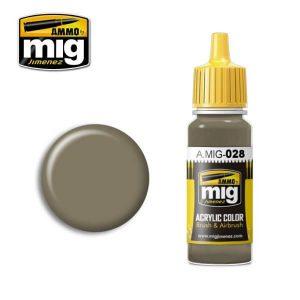 Mig Acrylic MIG028 RAL 7050 F7 German Grey Beige