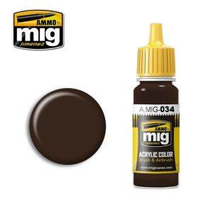 Mig Acrylic MIG034 Rust Tracks
