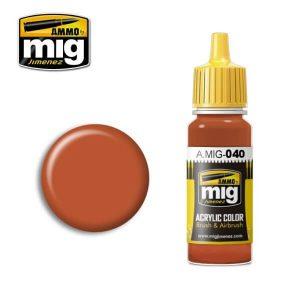 Mig Acrylic MIG040 Medium Rust