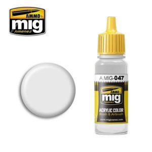 Mig Acrylic MIG047 Satin White