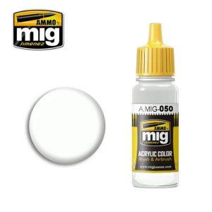 Mig Acrylic MIG050 Matt White
