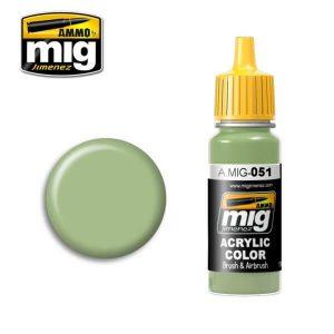 Mig Acrylic MIG051 Light Green KHV-553M