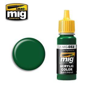 Mig Acrylic MIG052 Deep Green