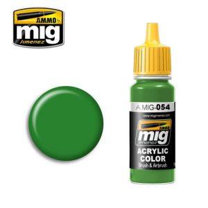 Mig Acrylic MIG054 Signal Green RAL 6032