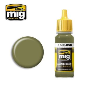 Mig Acrylic MIG058 Light Green Khaki