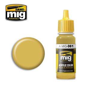 Mig Acrylic MIG061 Warm Sand Yellow