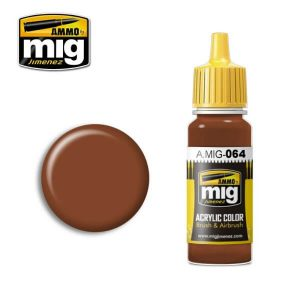 Mig Acrylic MIG064 Earth Brown