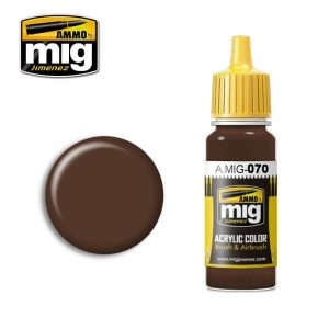 Mig Acrylic MIG070 Medium Brown Dark Earth (BS450)