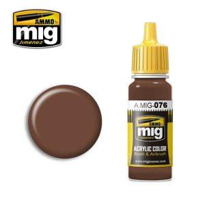 Mig Acrylic MIG076 Brown Soil