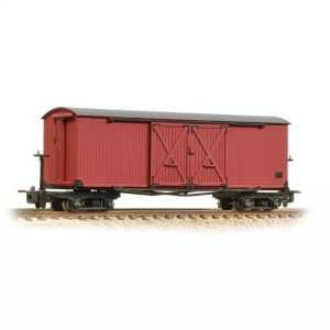 Bachmann 393-027 Covered Goods Wagon Lincolnshire Coast Light Railway Crimson