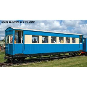 Bachmann 394-026 Bogie Coach Lincolnshire Coast Light Railway Blue