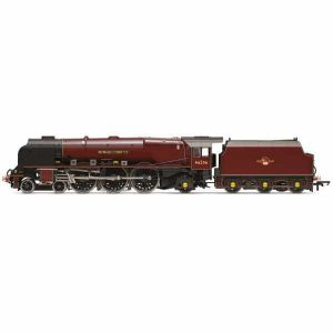 Hornby R3555 Princess Coronation 46256 'Sir William Stanier' BR Crimson Late Crest