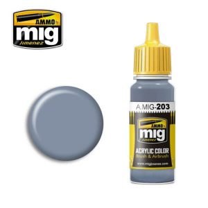 Mig Acrylic MIG203 FS36375 Light Compass Ghost Grey
