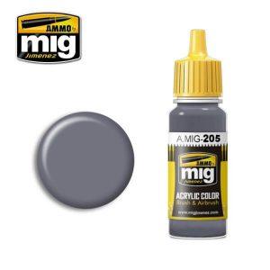 Mig Acrylic MIG205 FS26231 (BS638) Dark Gull Grey / Dark Sea Grey
