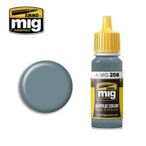 Mig Acrylic MIG208 FS36320 Dark Compass Ghost Grey