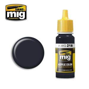 Mig Acrylic MIG218 FS36081 (RLM66) Schwartzgrau
