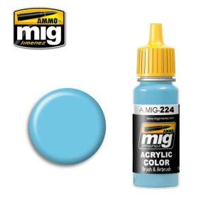 Mig Acrylic MIG224 FS35260 Sky Line Blue A II