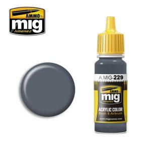 Mig Acrylic MIG229 FS15102 Dark Grey Blue