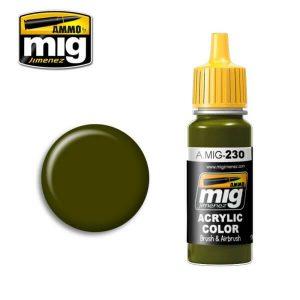 Mig Acrylic MIG230 RLM82 Camo Green (Hellgrun)
