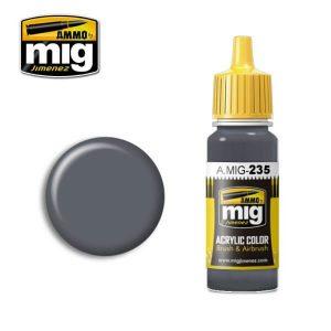 Mig Acrylic MIG235 FS36152 Dark Grey AMT-12