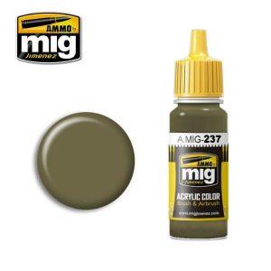 Mig Acrylic MIG237 FS23070 Dark Olive Drab