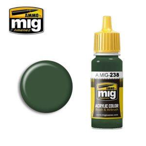 Mig Acrylic MIG238 FS34092 Medium Green