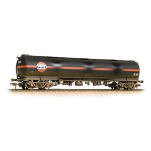 Graham Farish 373-562 TEA 100T Bogie Tank Wagon Gulf Black Weathered