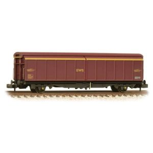 Graham Farish 373-600C VGA Sliding Wall Van EWS Weathered