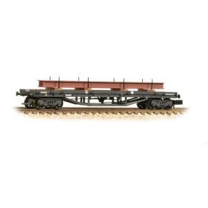 Graham Farish 373-927B 30T Bogie Bolster Wagon GWR Grey With Load