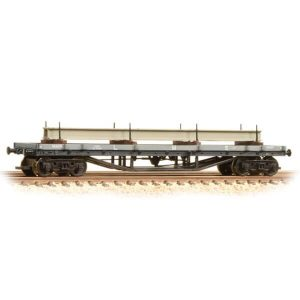 Graham Farish 373-929 30T Bogie Bolster Wagon LMS Grey With Load