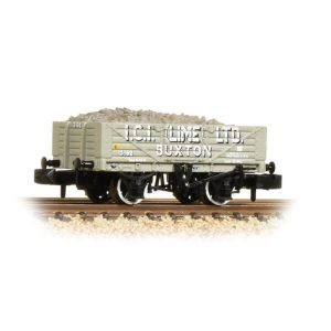 Graham Farish 377-031 5 Plank Wagon Steel Floor ICI Lime
