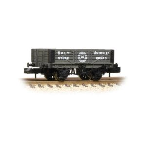 Graham Farish 377-059 5 Plank Wagon Wooden Floor Salt Union Stoke Works
