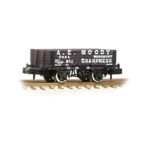 Graham Farish 377-060 5 Plank Wagon Wooden Floor A.E. Moody Coal Merchant
