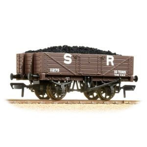 Graham Farish 377-063 5 Plank Wagon Wooden Floor SR Brown