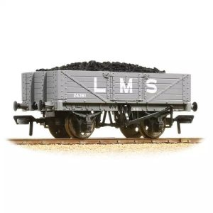 Graham Farish 377-064 5 Plank Wagon Wooden Floor LMS Grey
