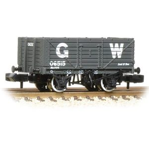 Graham Farish 377-088 7 Plank Wagon End Door GWR Grey