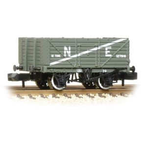 Graham Farish 377-090 7 Plank Wagon End Door LNER Grey