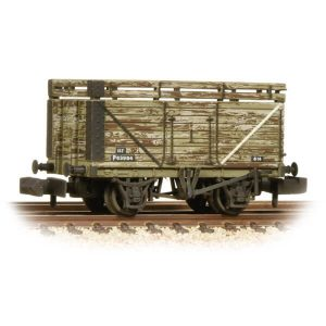Graham Farish 377-207 8 Plank Coke Rails BR Grey Weathered