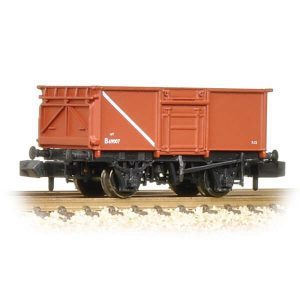 Graham Farish 377-226B 16T Steel Mineral Wagon BR Bauxite Early
